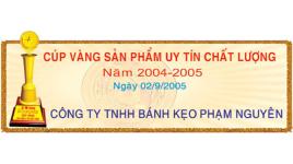 Công ty TNHH Chế biến thực phẩm & bánh kẹo Phạm Nguyên