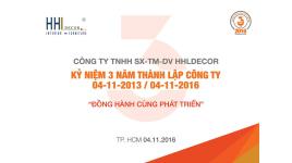 CÔNG TY TNHH SX TM DV HHLDECOR