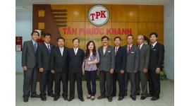 Công Ty Cổ phần Thương Mại & Sản Xuất Tôn Tân Phước Khanh