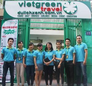 Công Ty Cổ Phần Du Lịch và Truyền Thông Màu Xanh Việt