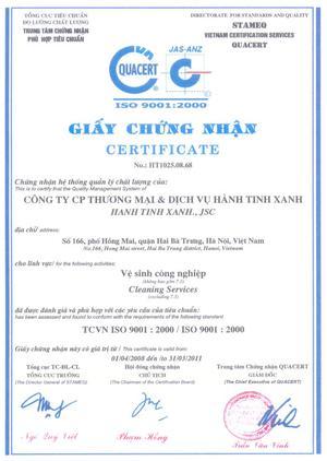 Công ty CP Thương mại & Dịch vụ Hành Tinh Xanh