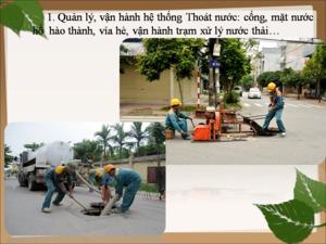 Công ty Cổ phần Quản lý công trình đô thị Hải Dương