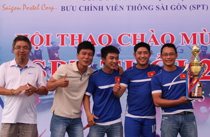 Công ty cổ phần dịch vụ bưu chính viễn thông Sài Gòn
