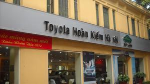 Xí nghiệp TOYOTA Hoàn Kiếm Hà Nội