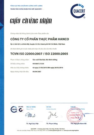 Công ty Cổ phần Thực phẩm Hanco
