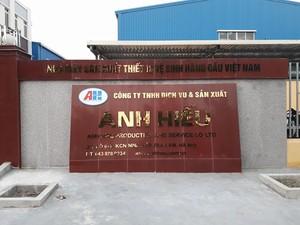 Công ty TNHH dịch vụ và sản xuất  Anh Hiếu