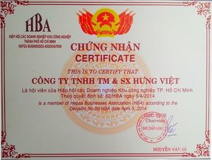 Công ty TNHH Thương Mại Sản Xuất HƯNG VIỆT