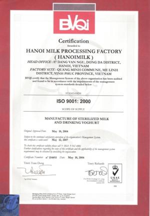 Công ty cổ phần sữa Hà Nội