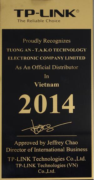 Công ty TNHH Điện Tử Công Nghệ Tường An - T.A.K.O