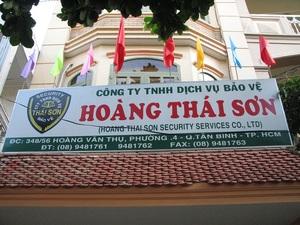 Công Ty TNHH Dịch Vụ Bảo Vệ Hoàng Thái Sơn