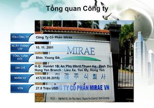 Công ty Cổ phần Mirae