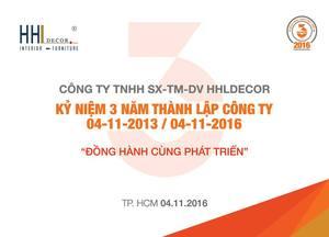 Công Ty TNHH Sản Xuất Thương Mại Dịch Vụ HHLDECOR