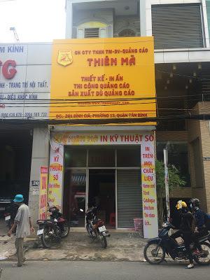 Công TY TNHH TM DV Quảng Cáo Thiên Mã