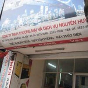 Công Ty TNHH Thương Mại Và Dịch Vụ Nguyễn Huy