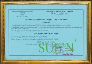 Công Ty Cổ Phần Thực Mỹ Phẩm Sue'n Việt Nam