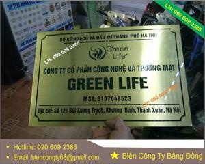 Công Ty Cổ Phần Công Nghệ Và Thương Mại Green Life
