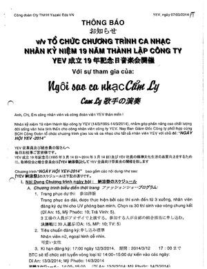 Công Ty TNHH Yazaki EDS Việt Nam