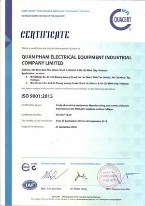 Công ty TNHH Thiết bị điện Công nghiệp Quân Phạm