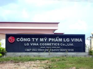 Công Ty TNHH Mỹ Phẩm LG Vina