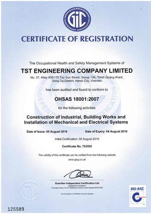 Công ty xây dựng và cơ điện TST