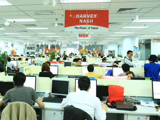 Let's raise the bar and make the best better. Let's continue making Harvey  Nash Vietnam A Great Place to Work.